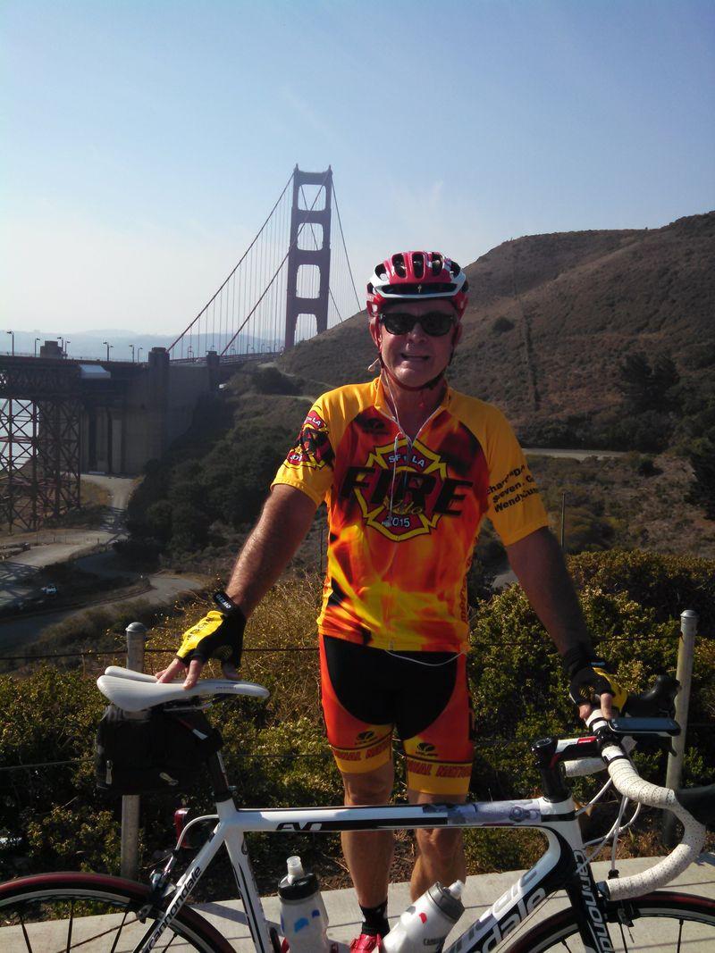 Buck At Golden Gate