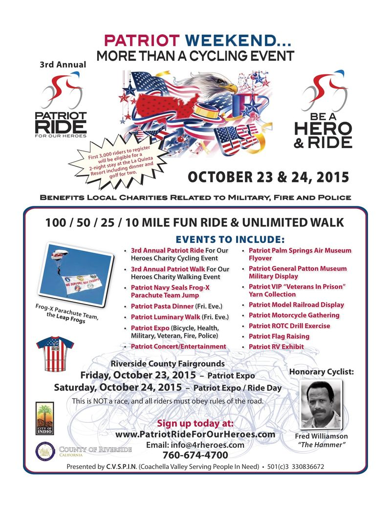 Patriot Ride 2015
