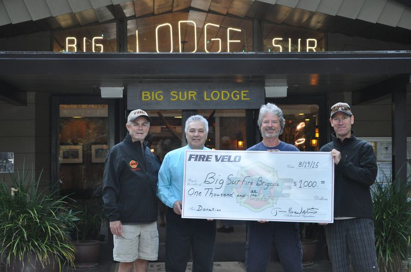 Donation to Big Sur Volunteer FD