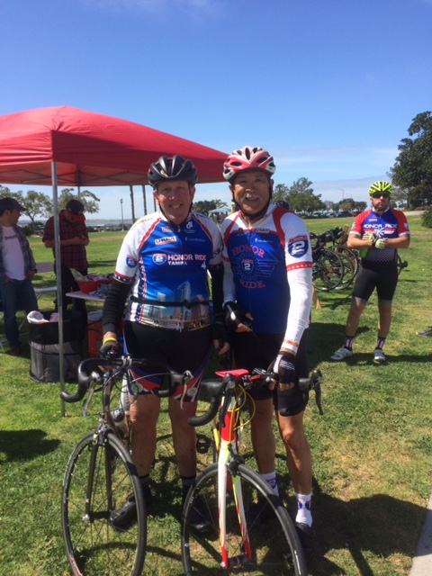2017 Honor Ride-Project  Hero-Ride2Recovery w Mike Conerty